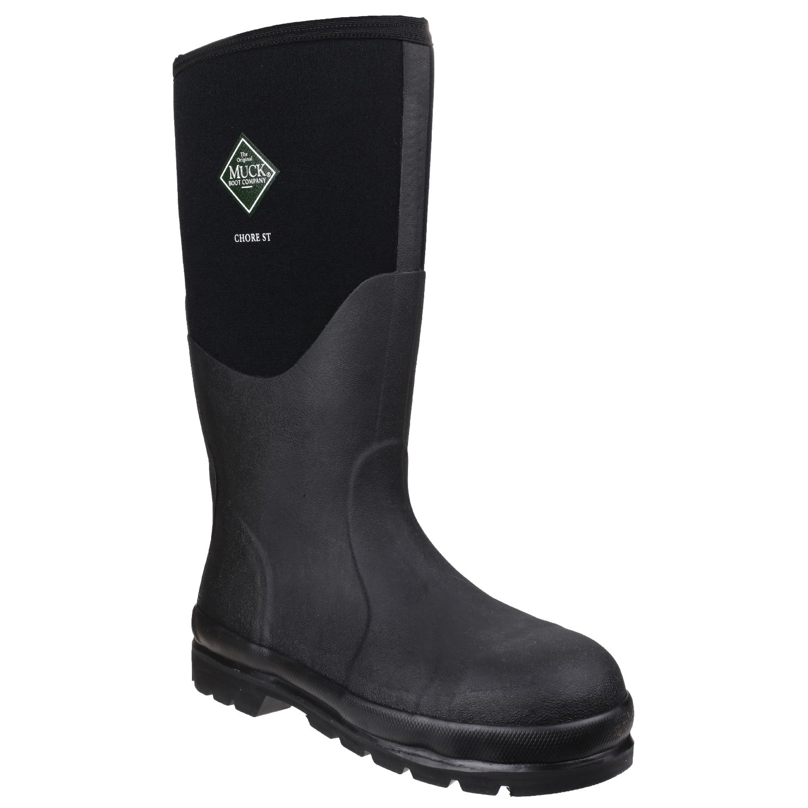 9840a28bcce Muck Chore Classic Safety, Unisex Full Welly in Black